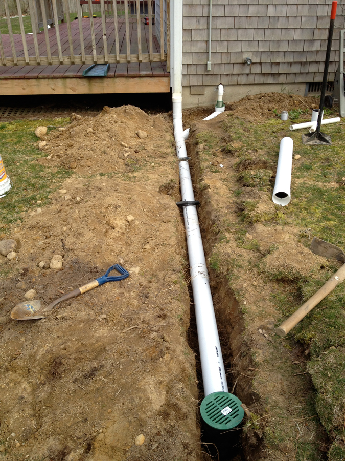 Moisture Solutions Exterior Drain Installations in MA Boston